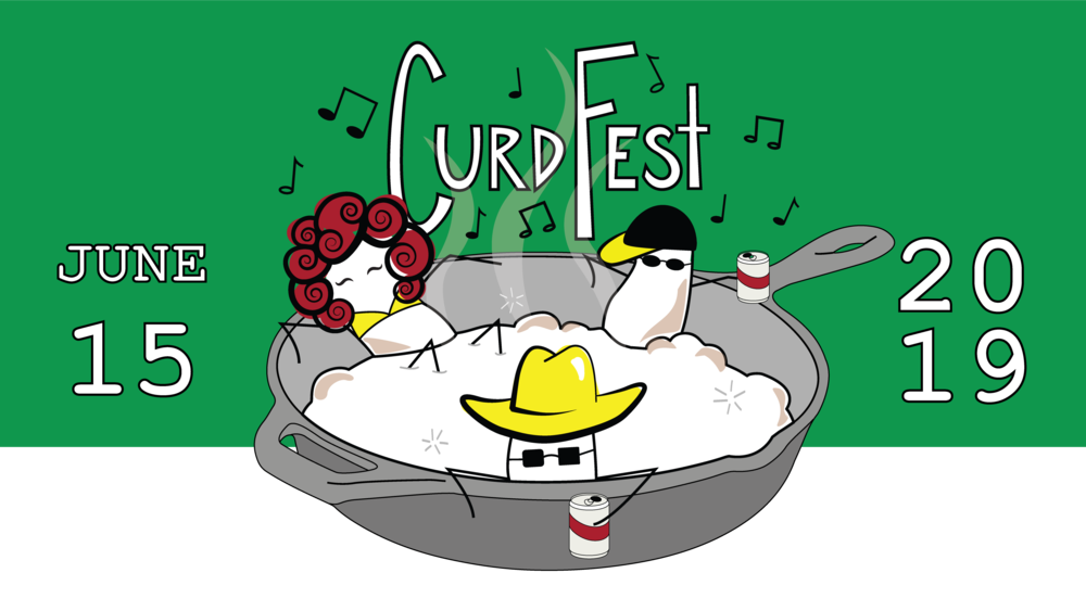 We will be hosting our second annual Curd Fest this summer on Saturday, June 15th from 11-4 pm, where we will be celebrating all things cheese curds! We'll be serving curds in all of their glorious forms, including fresh, fried, squeaky, melty, flavored, and on-a-stick.   We also have several amazing guests joining us for entertainment and food sampling. Here are our confirmed vendors so far!  Live music by Jack Winders  Live music by Bernie King and the Guilty Pleasures  Beer sampling by Third Street Brewhouse  Lucky's Popcorn Dressing  Wild Wille's Sandwich Shack  Minnewaska House  Spruce Soda  Milk & Honey Ciders   More to come!   *Tickets sold at event. Entry price is $5 for ages 12+. Free entry for those under 12-years-old.