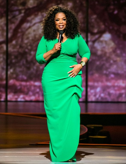 Oprah in Green