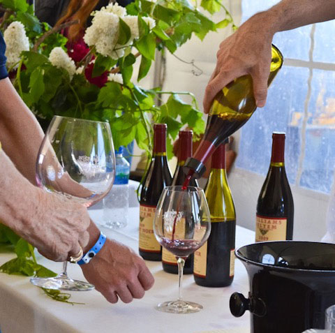 50 wineries will be pouring their choice Anderson Valley designate Pinot Noirs ~