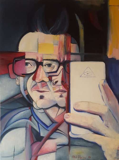 Selfme By Phil Vance Art - Perfect angle