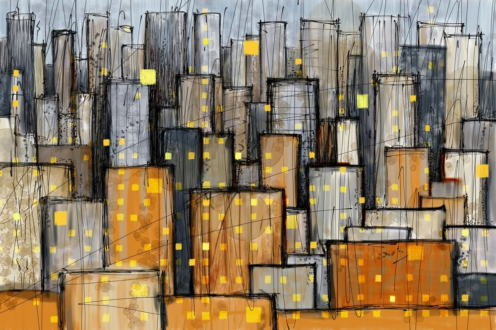 Abstractions of the City  -