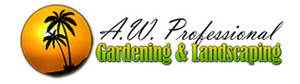 - Serving families and businesses in the Foothills of the San Gabriel Valley for more than 30 years, AW Professional Landscaping and Gardening is a full service landscaping company with a solid reputation for to providing you with quality you can count on.