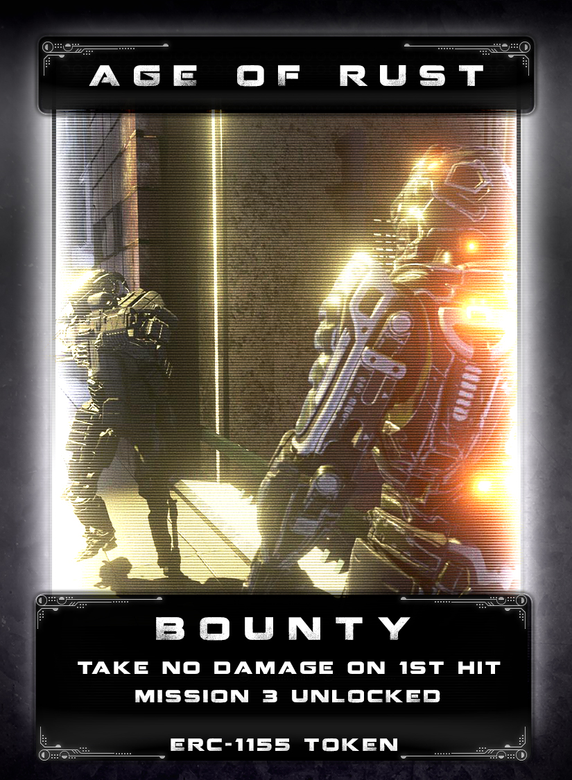 Bounty - No one remembers exactly how or why a band of Rangvok R11 mechs became the most savage and brutal bounty hunters in the galaxy. Rumor has it that they were betrayed by a group of mercenaries that attempted to hack and reprogram them. It is suspected that the hack was botched, which resulted in them pursuing a bounty that can never be caught or claimed. They wander the galaxy capturing and slaughtering innocent people or getting into firefights with other mechs. Unpredictable and overly aggressive, they can turn any situation into a chaotic one. You can only recognize them when they refer to you as The Bounty, but by that time, it's too late.