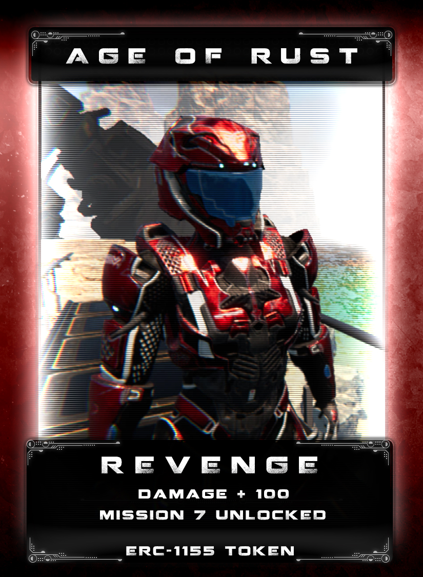Revenge - The great war against the mechs has taken its toll on the human race. As civilization has declined, the brutal and savage lifestyle of survival has led to anger and despair. Humans, modified or not, have sought violent revenge on those who oppress colonists or the innocent.