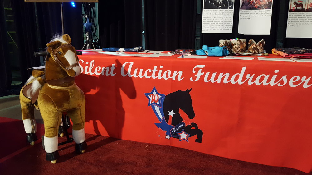 """Peanut"" the pony-cycle was one of over 75 auction items in or 2016 silent auction fundraiser"
