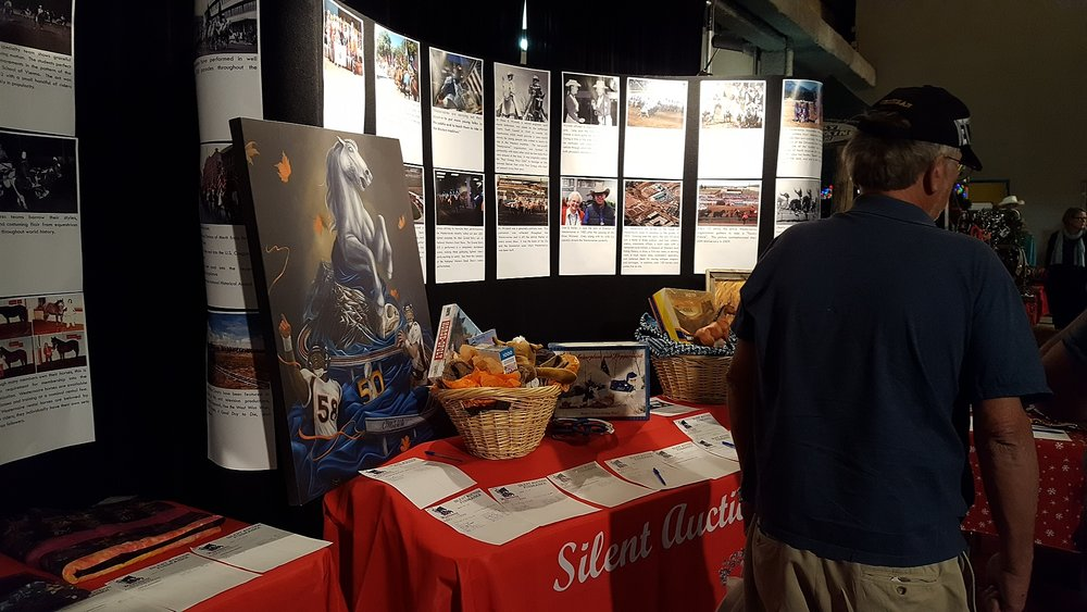 The Alumni Association booth contains educational information about the remarkable history of Westernaires, and membership in the Westernaires organization