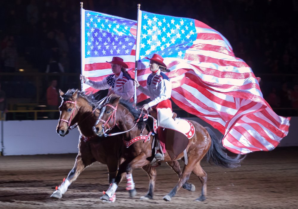NWSS - Wild West Show Big American Flags.jpg
