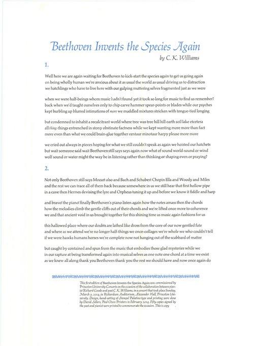 Chapbooks, et cetera — Pied Oxen Printers