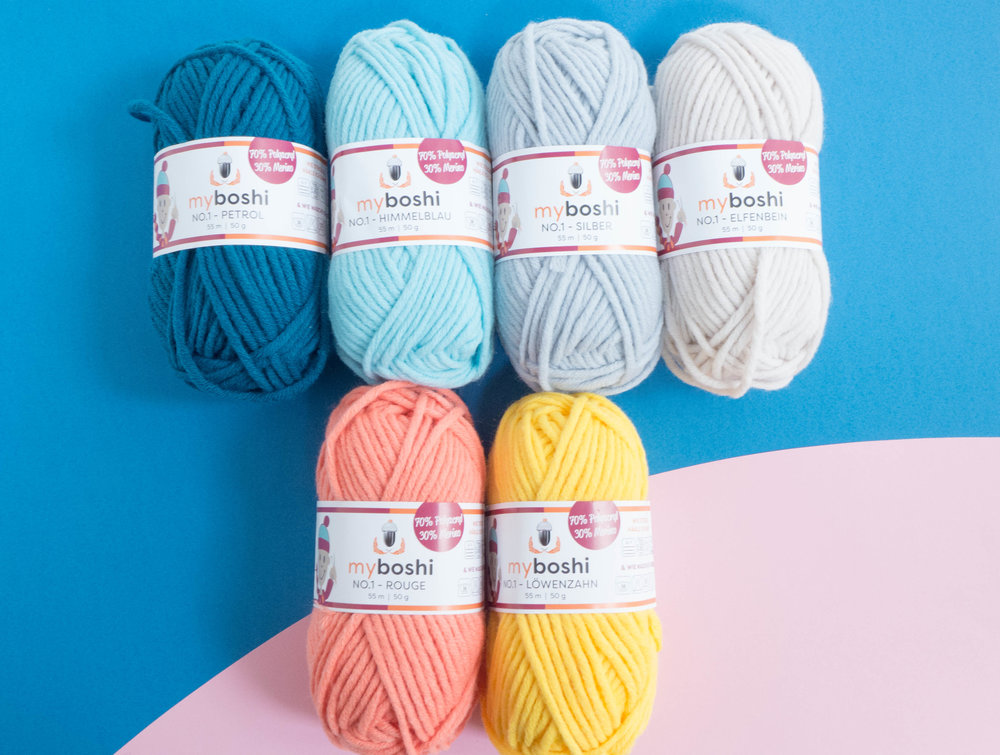 myboshi No 1 yarn available at   The Joyful Punch .