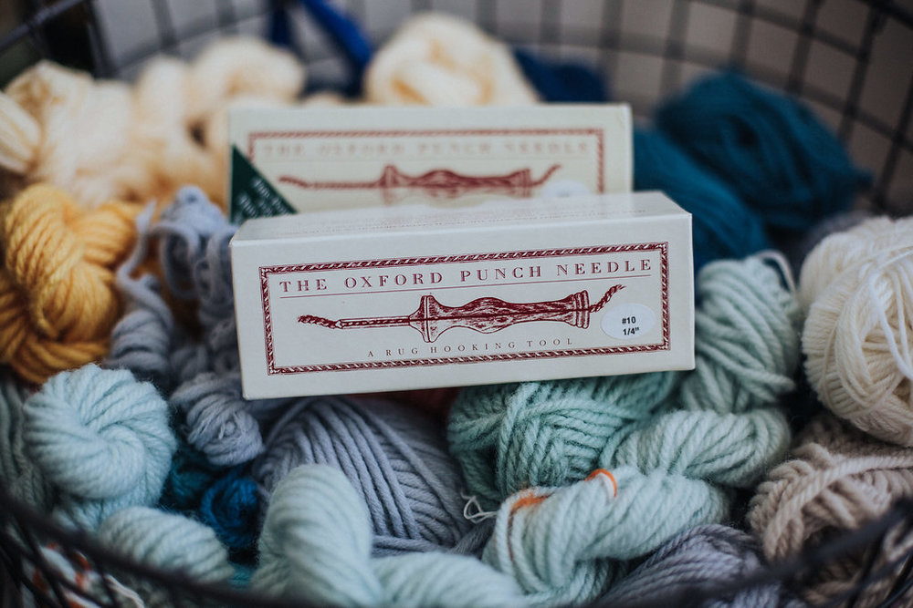 Shop - Buy your Oxford Punch Needle, wool, monks cloth, and frames.