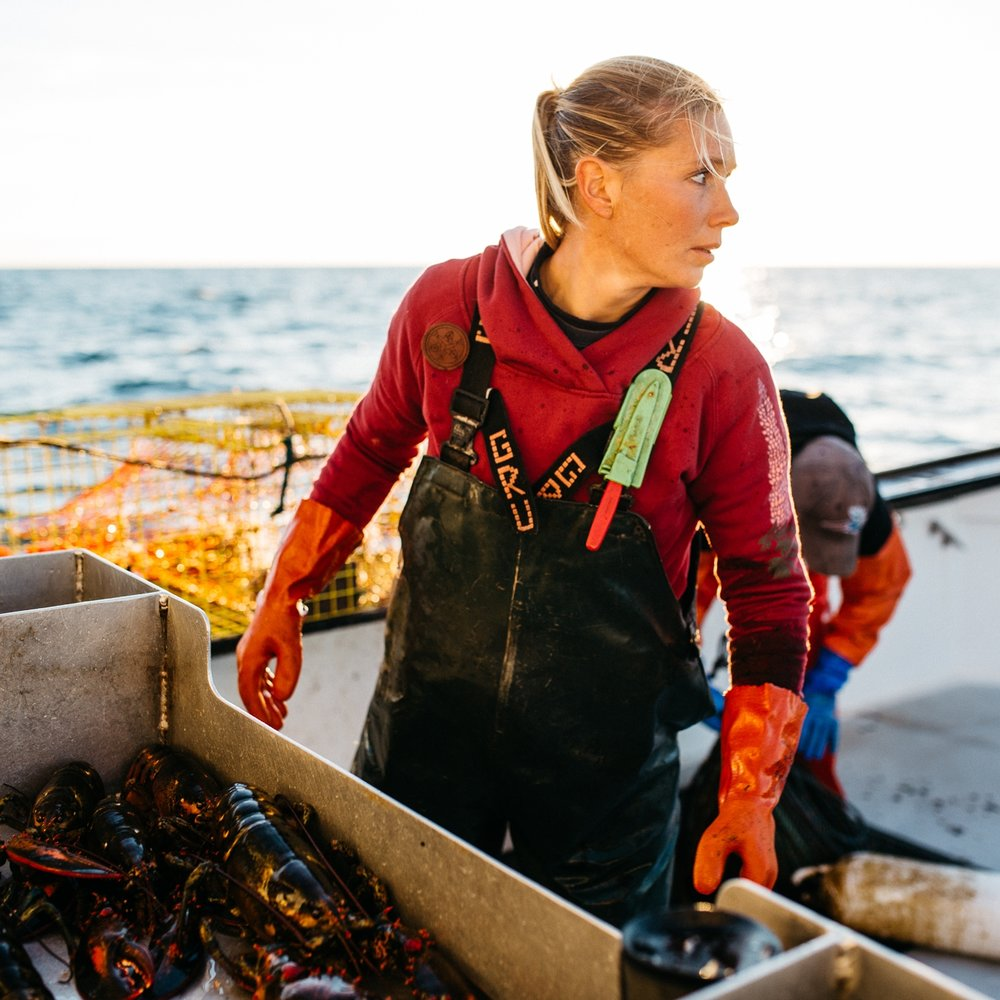 Salmon Sisters AK: Maine Lobstering