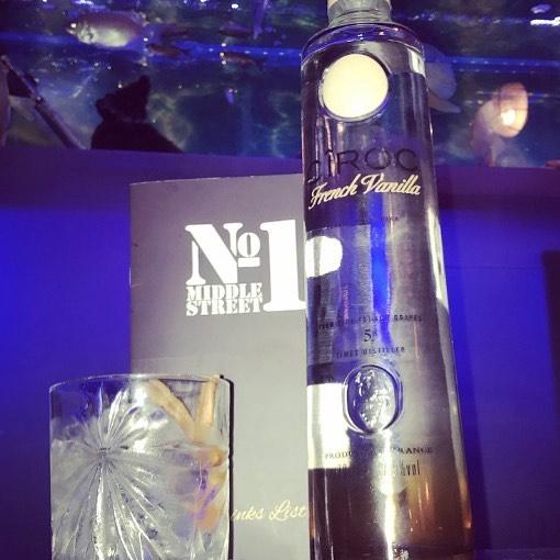 No1 now selling New French Vanilla Ciroc  #cirocfrenchvanilla #Ciroc #Brighton #No1 #Bar #Elite #Exclusive #Vanilla #cinnamonsticks #Nightlife