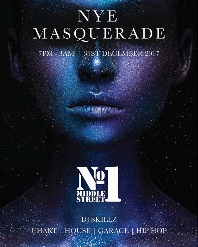 No1 NYE MASQUERADE VIP TABLES UPSTAIRS ONLY BOOK IN ADVANCE OR NO ADMITTENCE TO VIP £10 per ticket.  #tickets #NYE #masquerade  #drinks #cocktail #brighton #instadaily #drinkporn #No1 #djskillzlondon #alcohol #Club #Bar #Latelounge #Elite #VIP