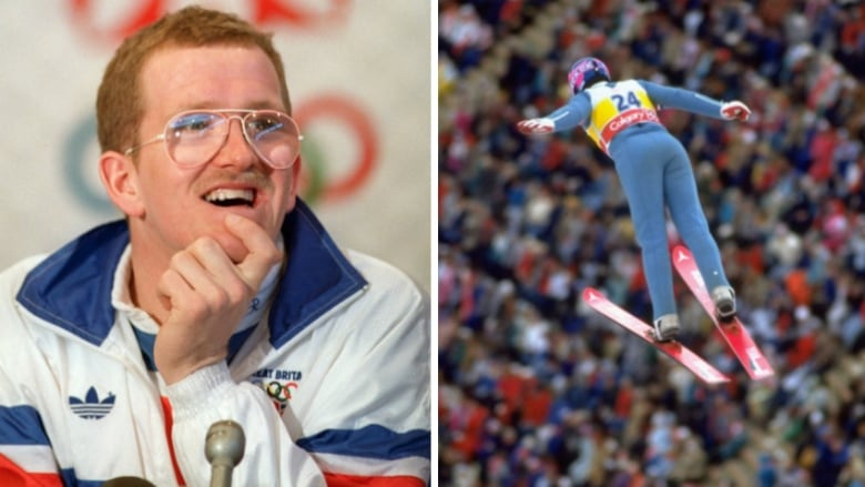 """Featuring special guest """"Eddie the Eagle"""" Edwards"""