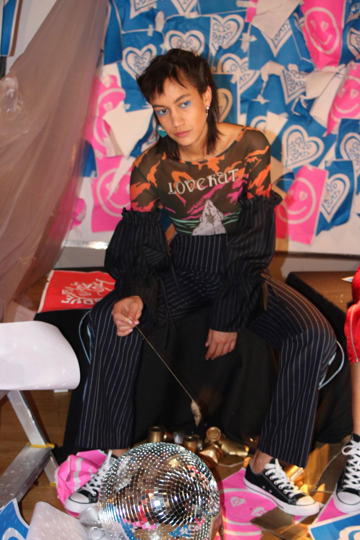 London Fashion Week AW17 Clio Peppiatt
