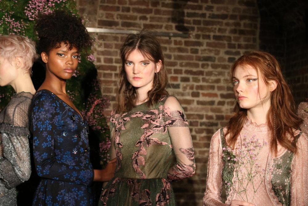 London Fashion Week AW17 Ekaterina Kukhareva