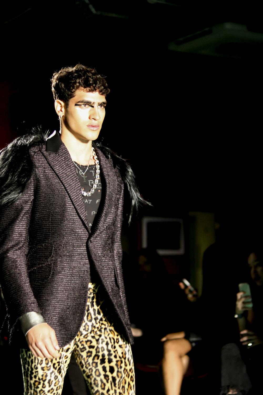 London Fashion Week SS18 Sir Tom Baker.