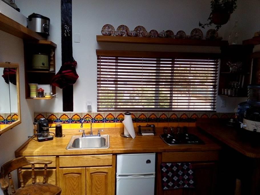 Cozy Kitchen.