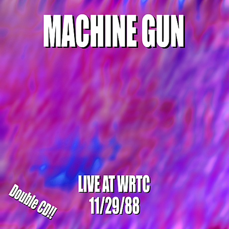 Machine Gun Live at WRTC