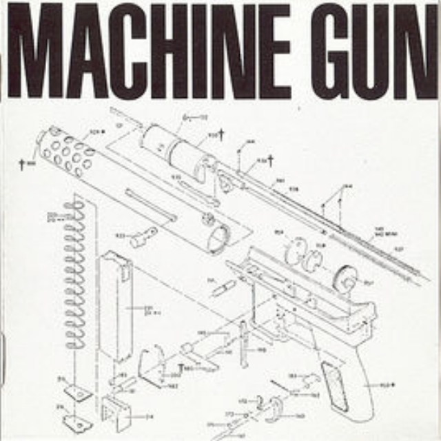 "Machine Gun   - Machine Gun with: Thomas Chapin, Robert Musso, Bil Bryant, John ""Lunar"" Richey, Jair-Rohm Parker Wells,Sonny Sharrock, Karl Berger"