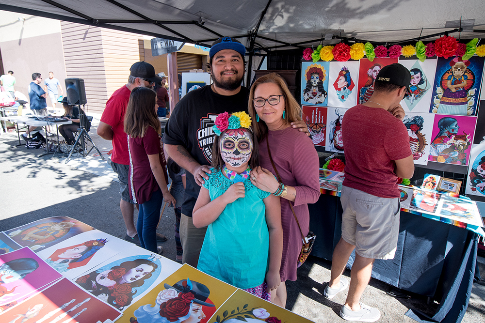 2017 Day of the Dead Festival—North Park Hosted by Artelexia—Arte De Gustavo Rimada