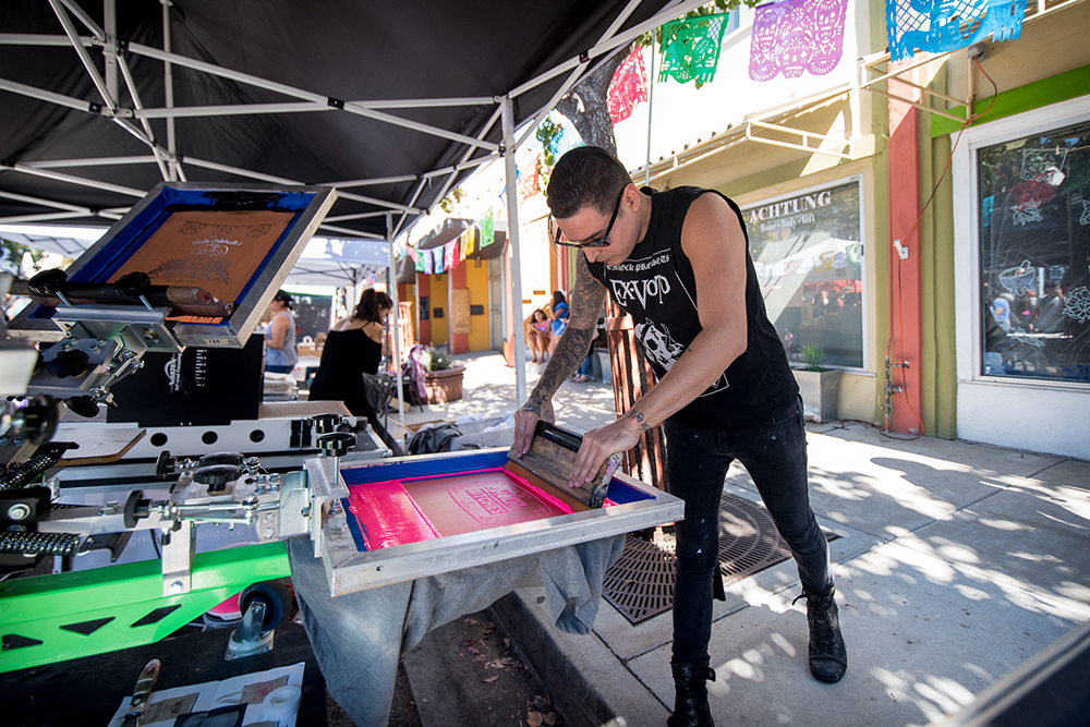 2017 Day of the Dead Festival—North Park Hosted by Artelexia—AKA Screen Printing