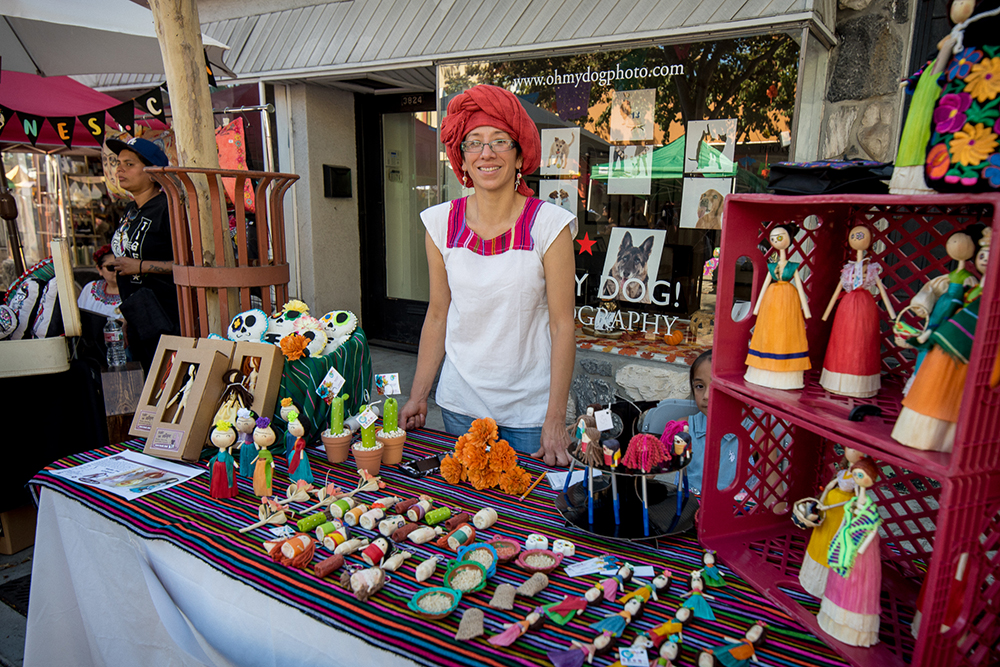 2017 Day of the Dead Festival—North Park Hosted by Artelexia—Coria Graphics Art