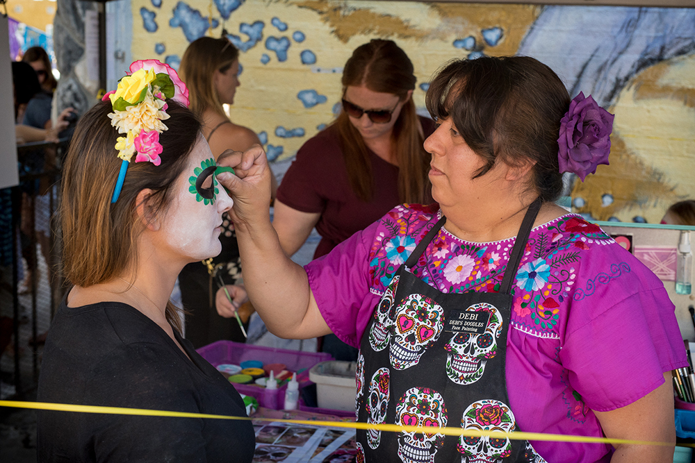 2017 Day of the Dead Festival—North Park Hosted by Artelexia—Debi's Doodles