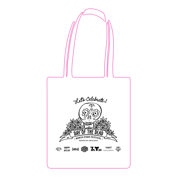 Day of the Dead Festival North Park Event Tote Bag