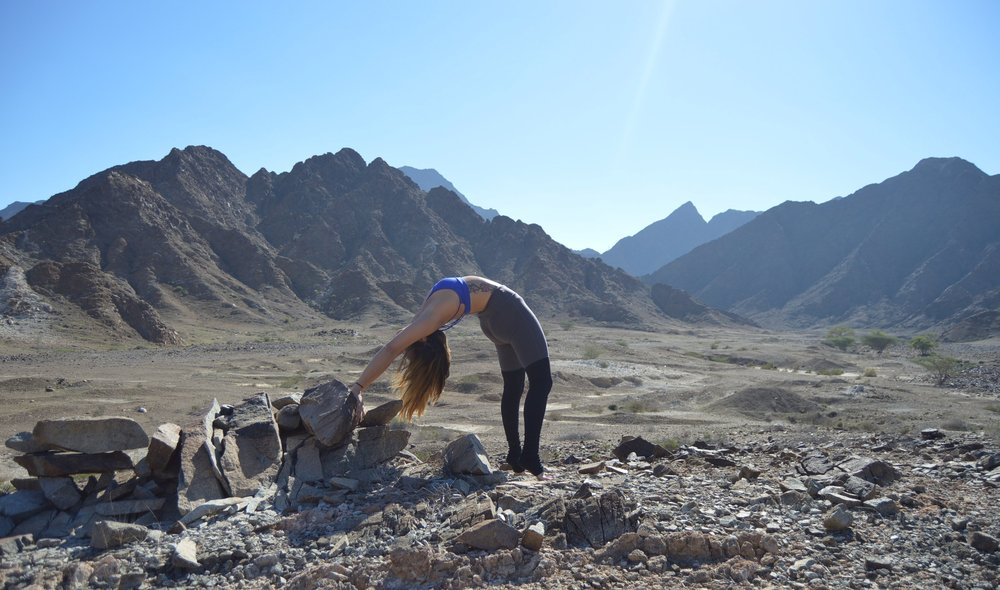 From beach to rocky mountains: - silence in the Wadi