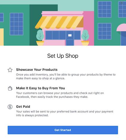 Set Up Shop On Facebook