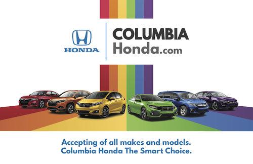 Alexis Beas Columbia Honda Pride Fest