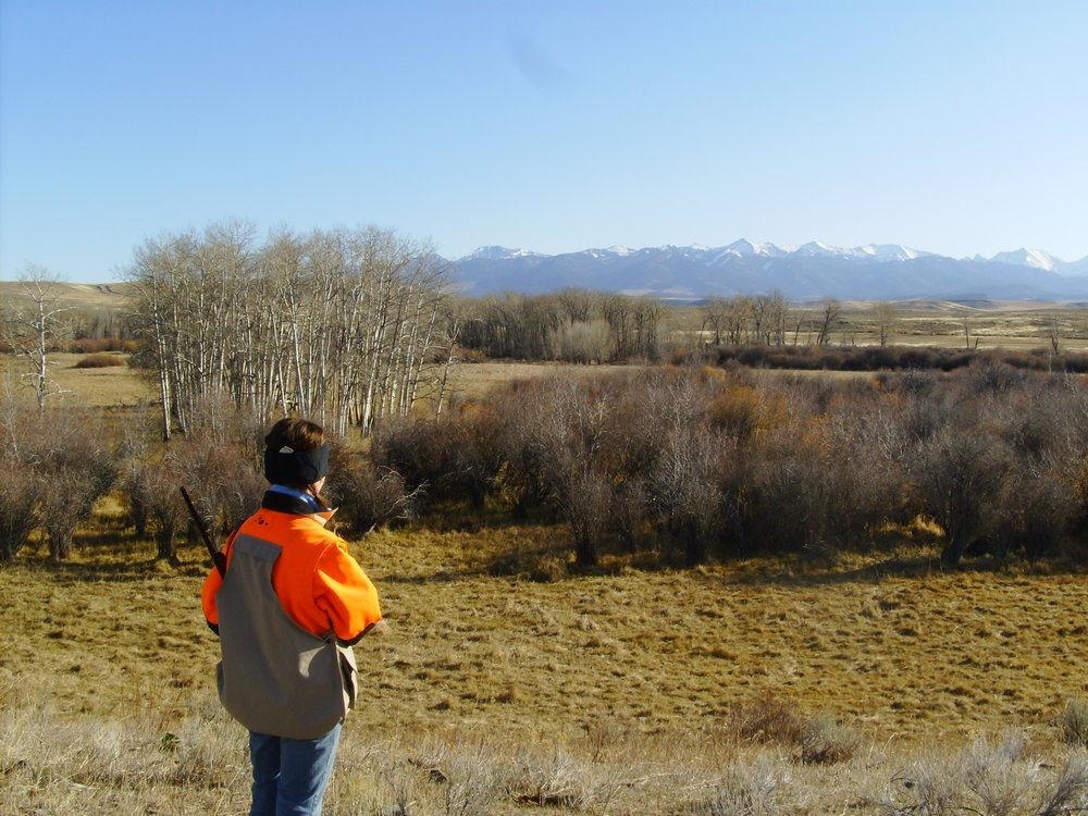 One of my first trips to the Shields River Valley hunting c. 2008