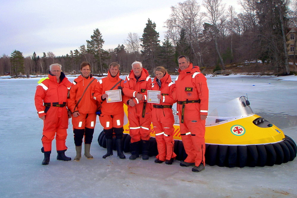 Fleet of 4 passenger Neoteric Craft operated by Swedish Sea Rescue Society