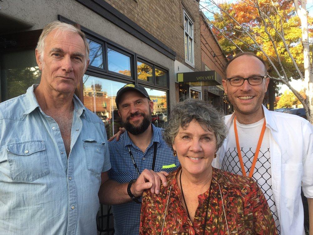 John Sayles, Todd Looby, Maggie Renzi and Clayton Dean Smith