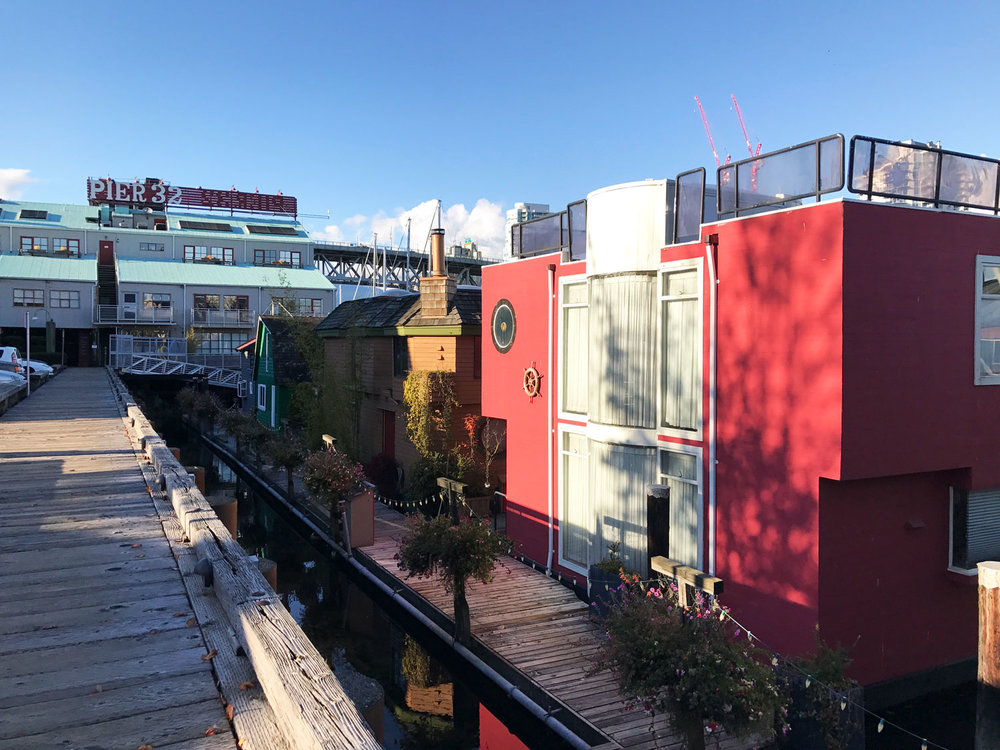 boathouses on granville island vancouver