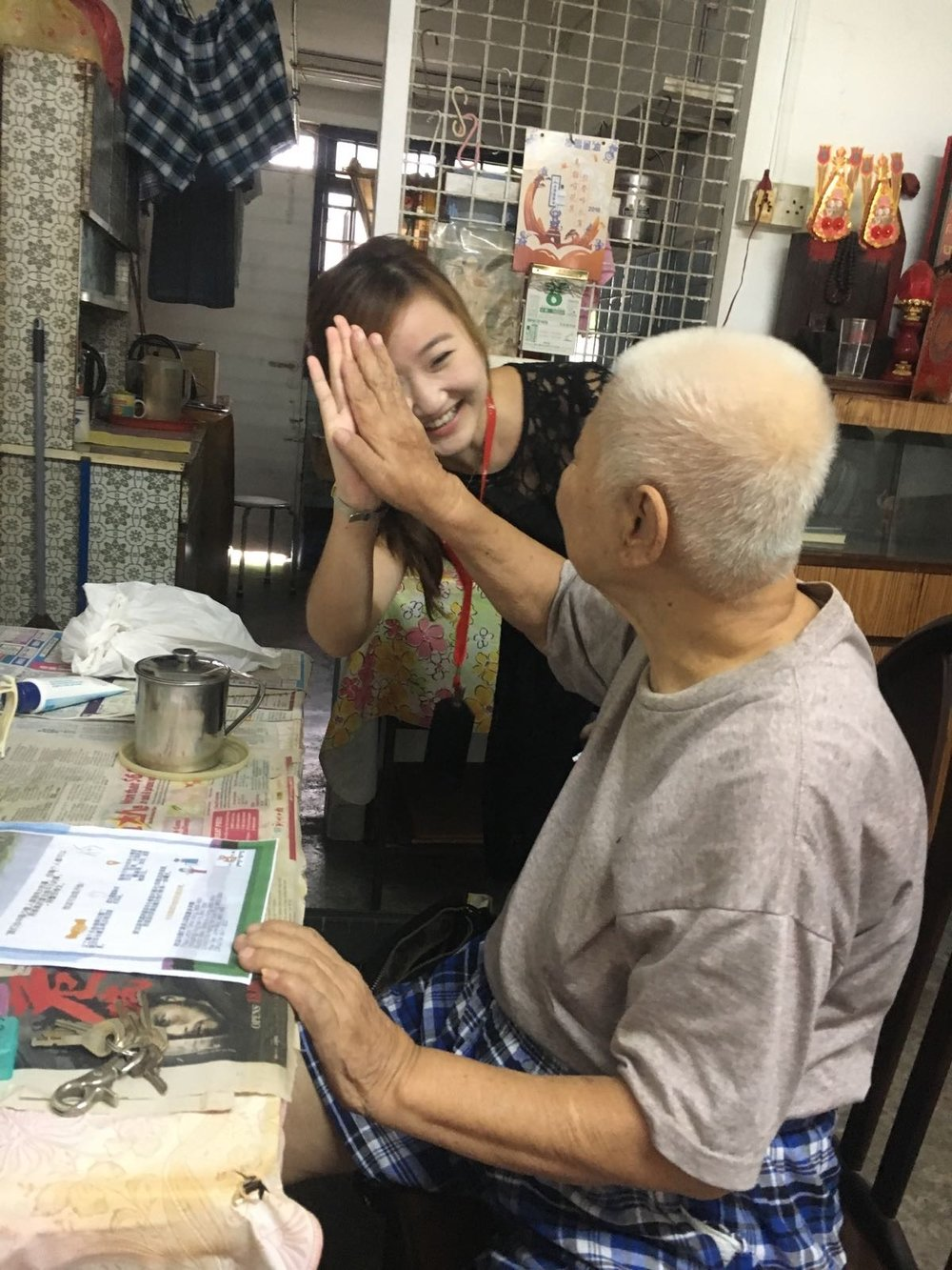 caring for elderly in singapore