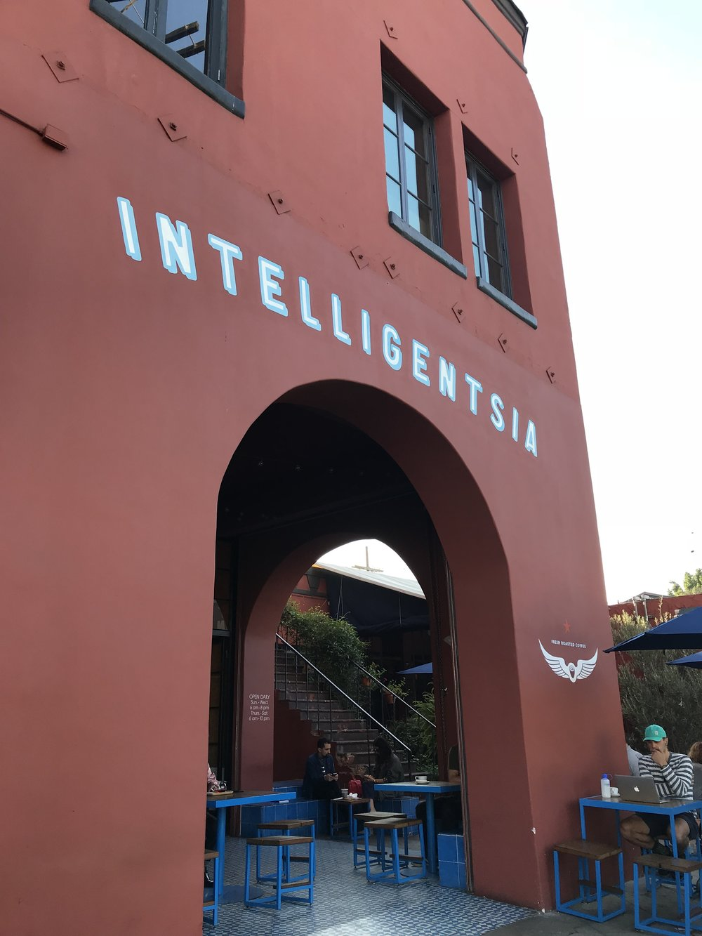 intelligentsia cafe los angeles