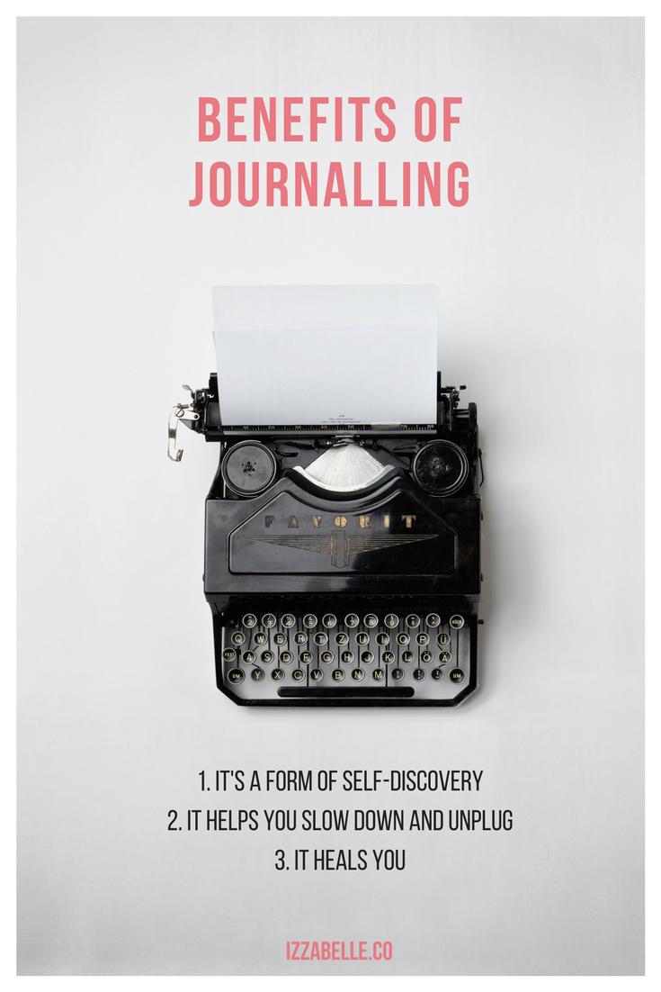 benefits of journalling