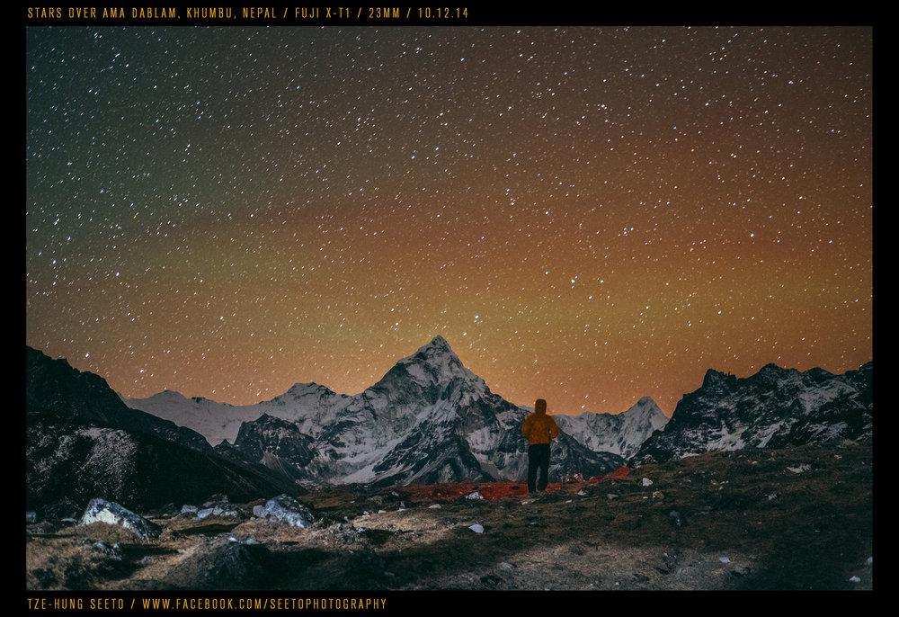 Stars over Amadablam, Nepal_CP.jpg
