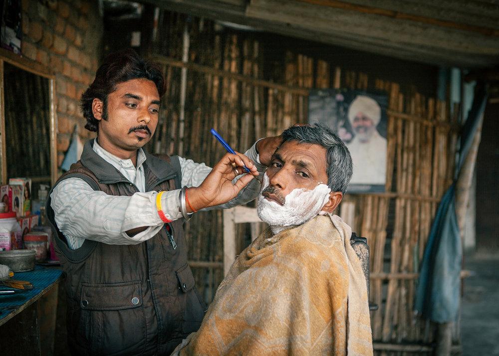 The Barber of Bagahar, Bihar, India