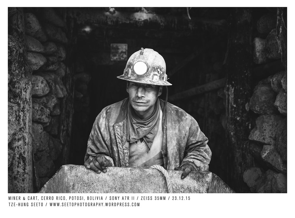 Bolivia, Potosi, Miner with cart_CP.jpg
