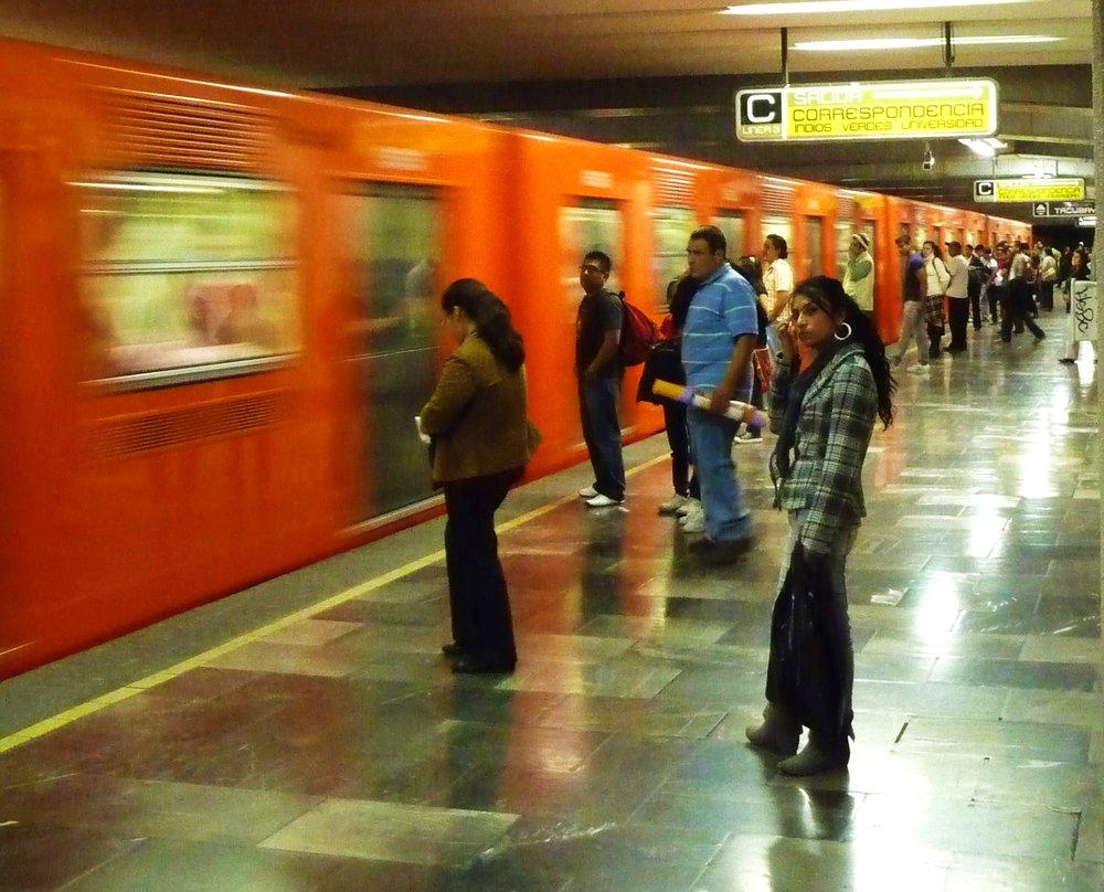 Metro waiting