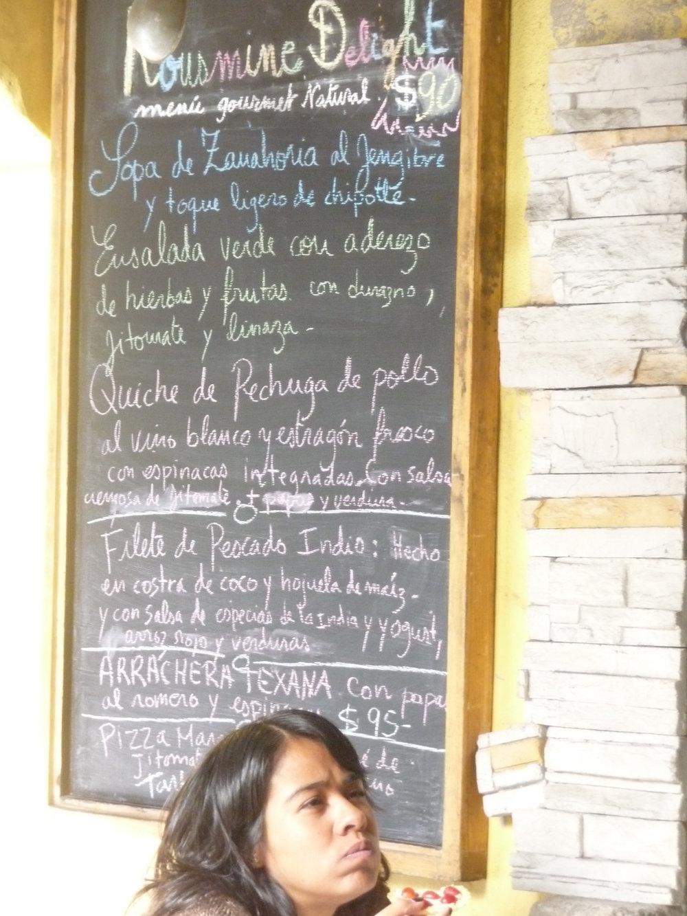 Cupcakes, menu 001