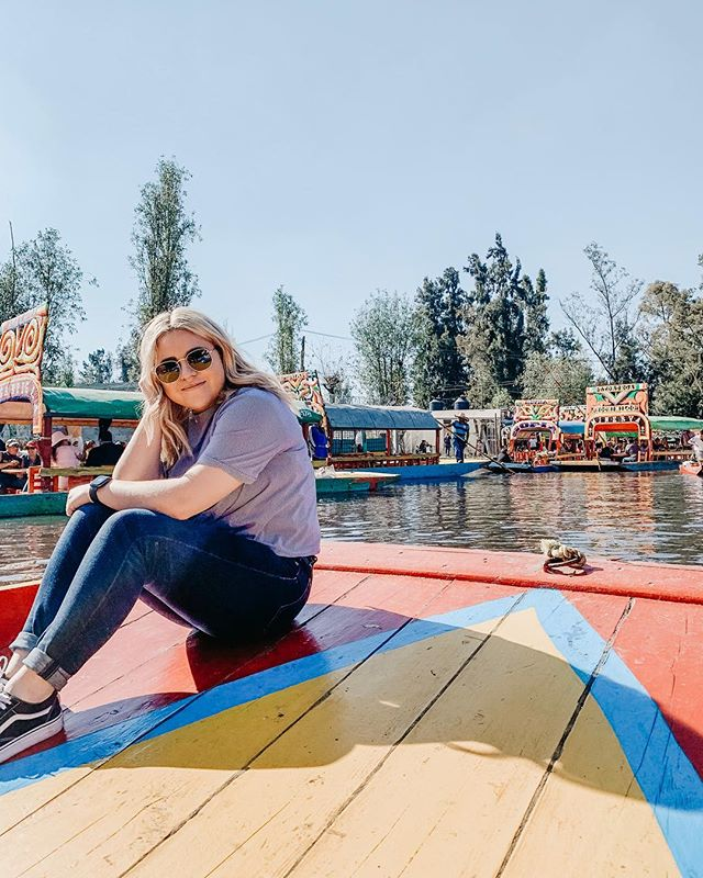 Gracias Mexico 🇲🇽✨ where to next??? . . . #mexico #mexicodf #cdmx #xochimilco #trajinerasxochimilco #trajineras #shotoniphone #travel #travelphotographer