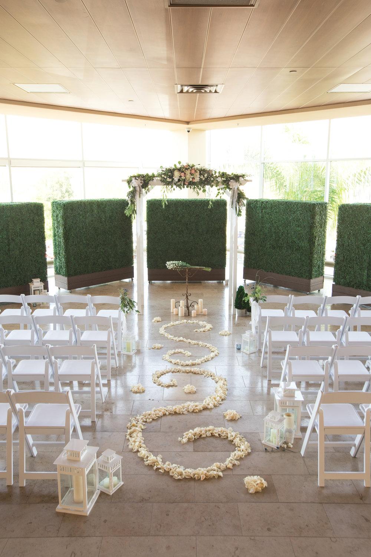 White Garden Arch - $75.00