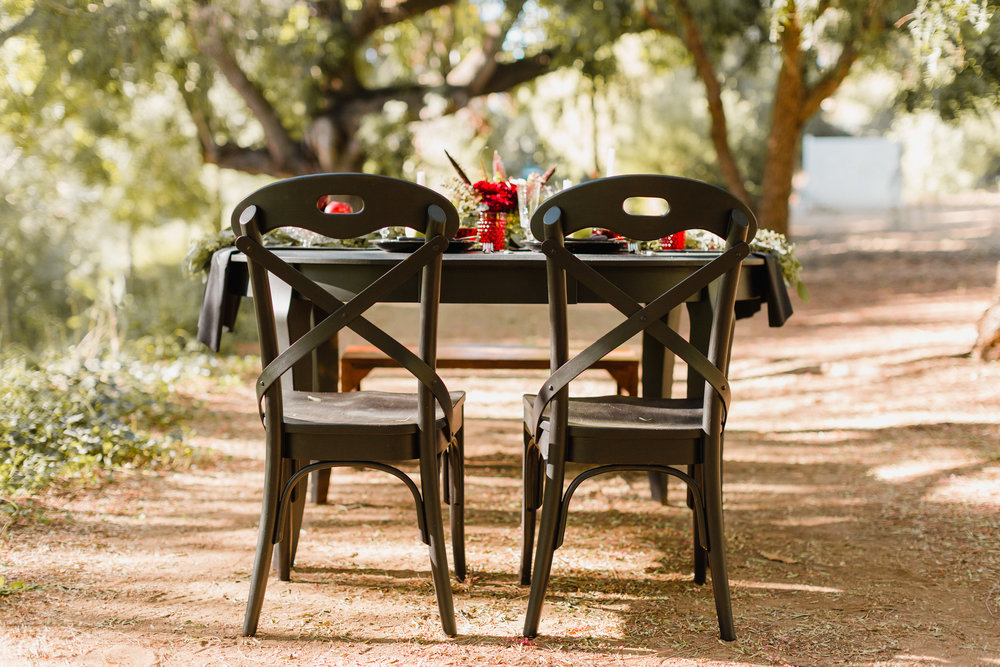 Black Dining Chairs - $8.00 per chair