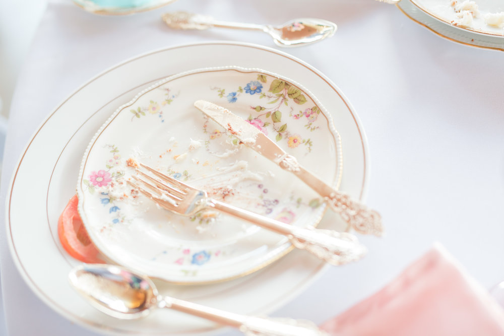 Vintage China Dinner, Salad and Dessert Plates - $1.50 - $2.50