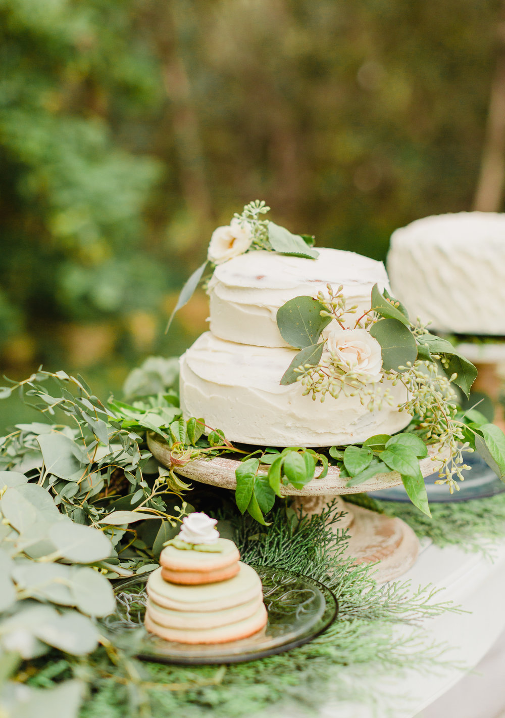 RUSTIC CAKE STAND - $10.00