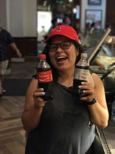 First Diet Coke I had in 2 years, the bottle said Meet me at the Castle, I had to do it.